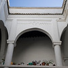 Traditional Andalusian patio in a medina house, Tetouan, Morocco