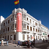 Instituto Cervantes building in the Spanish quarter, Tetouan, Morocco
