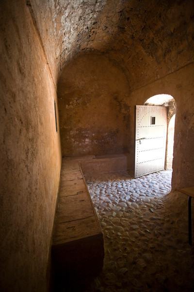 Old dungeon, Chefchaouen kasbah, Morocco