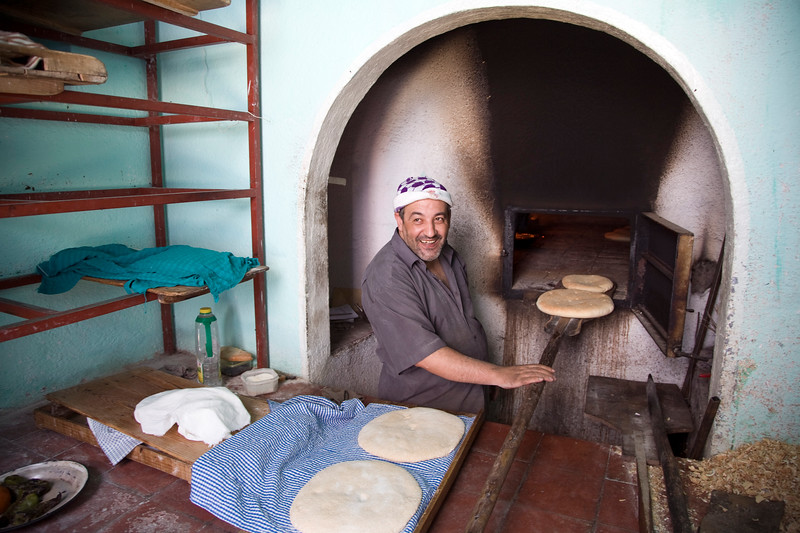 Communal oven or ferrane, town of Chefchaouen, northern Morocco, Africa