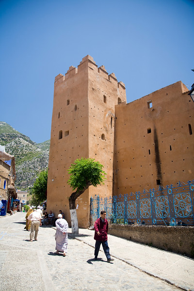 The Kasbah, Chefchaouen, Morocco