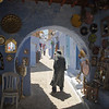 Archway in the medina, Chefchaouen, Morocco