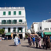 Colonial architecture in the Spanish quarter, Tetouan, Morocco
