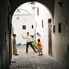 Children playing on the street, Tetouan medina, Morocco