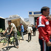 People in a countryside market, province of Tetouan, Morocco