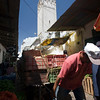 Delivery in the narrow streets of the souk, Tetouan, Morocco