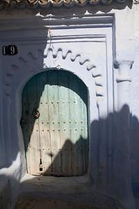 Door, Chefchaouen, Morocco