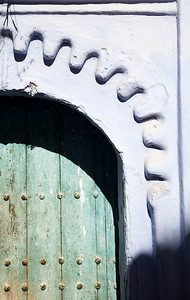 Traditional architecture, Town of Chefchaouen, northern Morocco, Africa