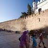 Medieval city walls, Tetouan, Morocco