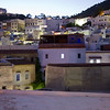 View of Chefchaouen, Morocco, by night
