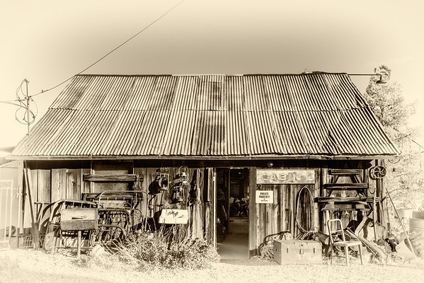 The historic ghost town of Nelson, Nevada