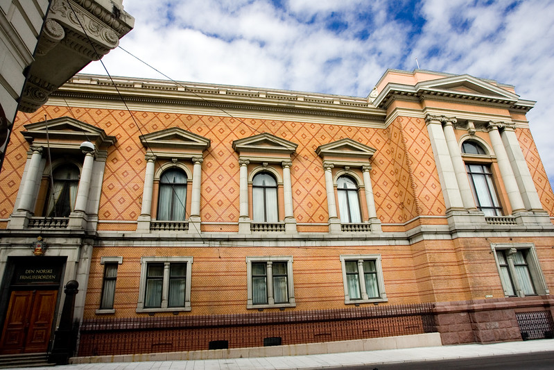 The National Theatre, steeped in tradition, is located by Karl Johans Gate and is something of a national symbol.