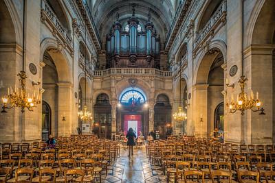 Saint Paul & Saint Louis church (Paroisse Saint-Paul Saint-Louis), Marais, Paris, France