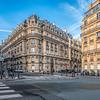Corner of Lubeck and Magdebourg streets, 8 district (Champs-Elysées), Paris, France
