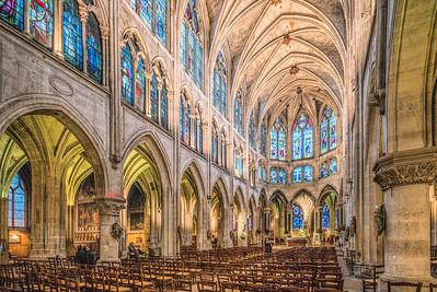 Église Saint-Séverin, Paris, France