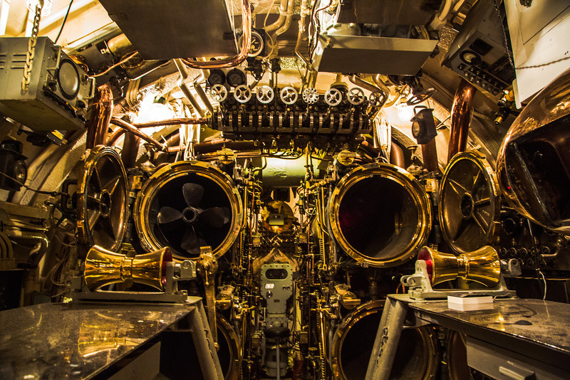 Inside an Old Submarine