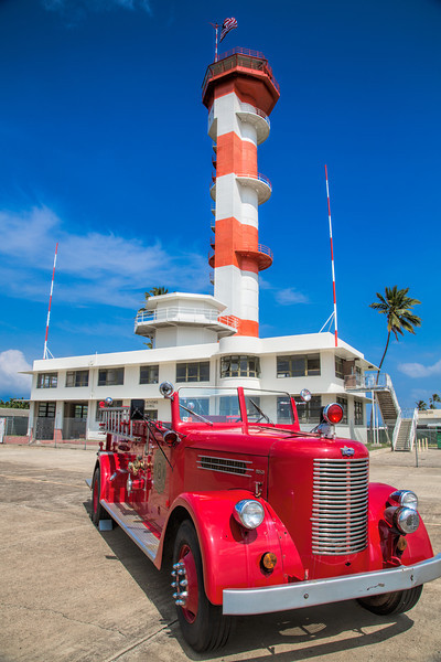 Fire Truck at Control Tower