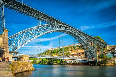 Dom Luis I Bridge, Porto, Portugal