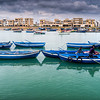 Fishing boats in Bou Regreg River, Rabat, Morocco