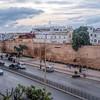 Medina walls, Avenue Hassan II, Rabat, Morocoo