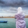Woman by Bou Regreg River, Rabat, Morocco