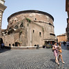 Rear view of the Pantheon, Rome