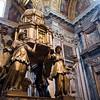Bronze altar by Sebastiano Torregiani, Sistine Chapel, Santa Maria Maggiore basilica, Rome