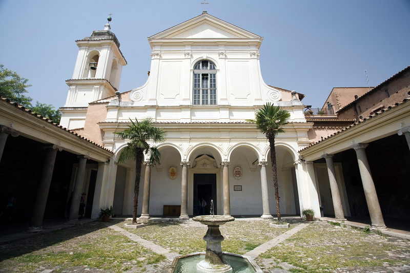 Cloister of San Clemente basilica, Rome