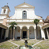 Cloister of San Clemente basilica, Rome