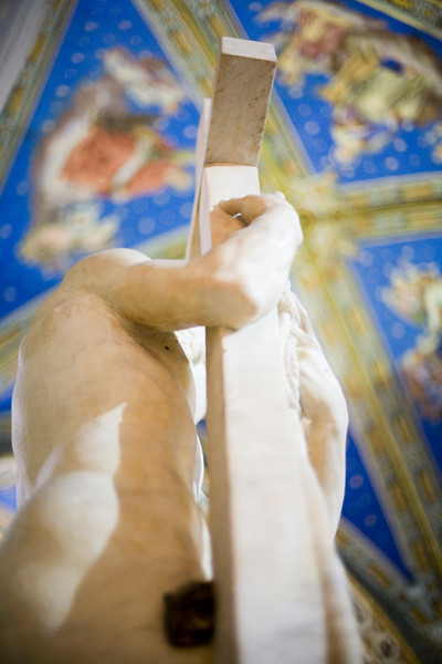 The Redeemer sculpture, by Michelangelo, Santa Maria Sopra Minerva Basilica, Rome