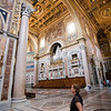 Interior of San Giovanni in Laterano basilica