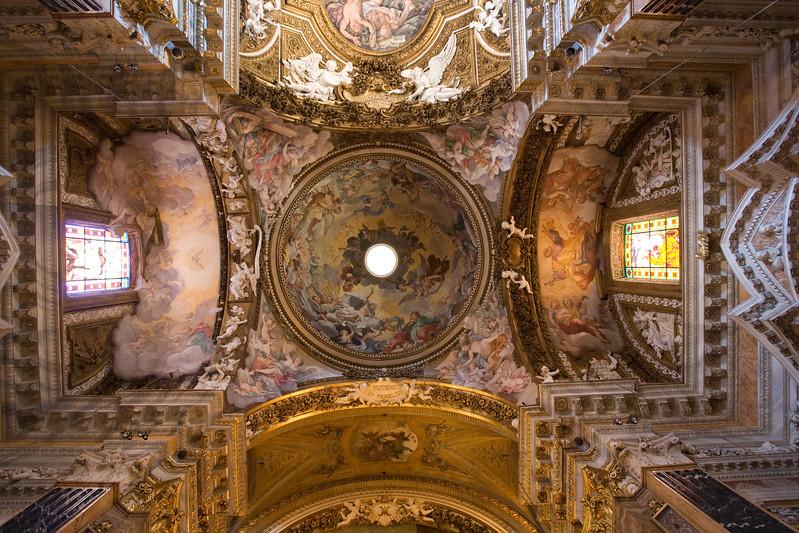 Dome of Santa Maria della Victoria church, Rome
