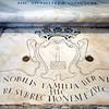 Tombstone of Bernini's family at Santa Maria Maggiore, Rome