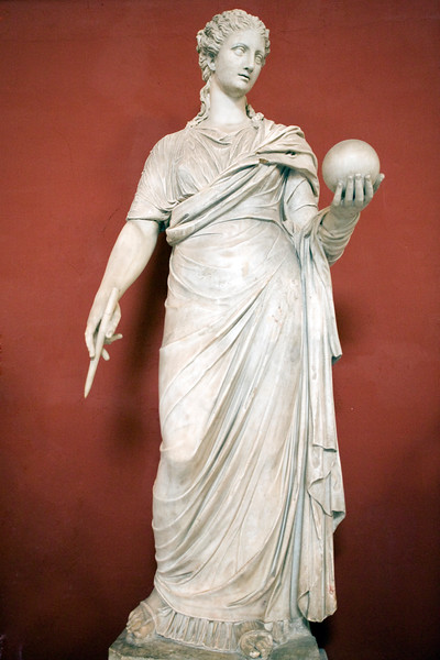 Statue of Clio, Muse of History and Epic, Vatican Museums