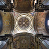 Ceiling of San Rocco church, Rome