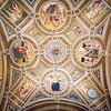 Room of the Segnatura ceiling, Raphael's rooms, Vatican Museums