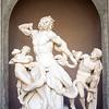 Laocoon group, Vatican Museums