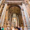 Interior of Saint Peter's Basilica, Vatican