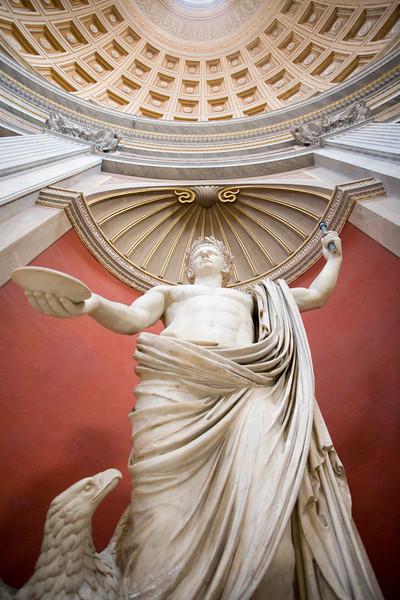 Emperor Claudius (41–54 AD) as Iuppiter, Vatican Museums