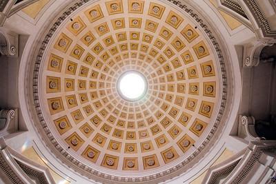 Dome of the vestibule of Santa Maria degli Angeli e dei Martiri basilica, Rome