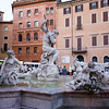 Neptune fountain at Navona square, Rome