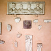 Pieces of the Pontifical Museum of Christian Antiquities, Lateran cloiester, Rome.