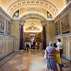 First floor galleries, Vatican Museums
