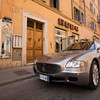 Parked Maserati, Via Frattina, Rome
