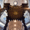 Saint Peter's baldacchino with zooming effect, Vatican