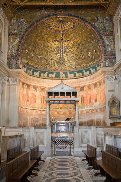 Apse of San Clemente Basilica, Rome