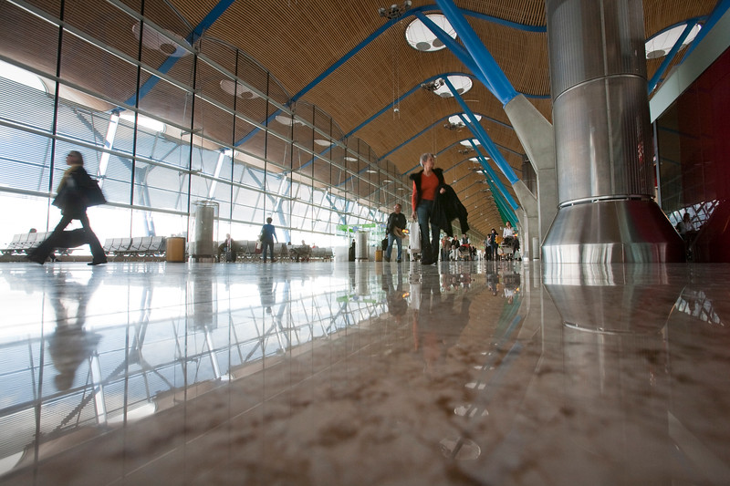 New T4 terminal, Barajas airport, Madrid, Spain