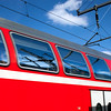 Detail of a DB Regio train, Berlin, Germany