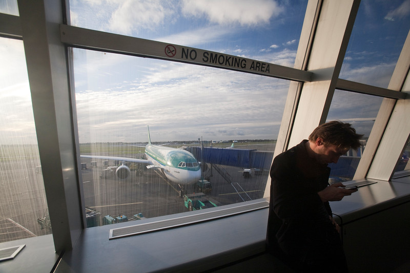 Dublin airport, Ireland