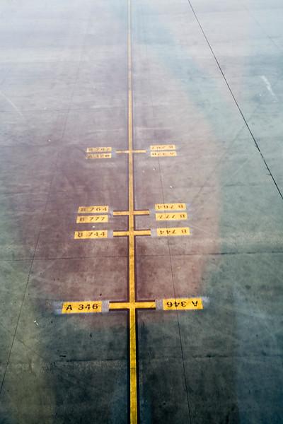 Signals on a landing strip